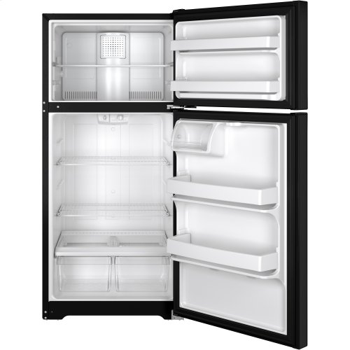 GE® ENERGY STAR® 14.6 Cu. Ft. Top-Freezer Refrigerator