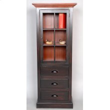 "#486 Morristown Door, Drawer Cabinet 24""wx14""dx59.5""d"