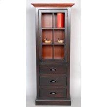 """#486 Morristown Door, Drawer Cabinet 24""""wx14""""dx59.5""""d"""