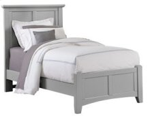 VAUGHAN BASSETT BB26-338-833-900 Bonanza Grey Twin Mansion Bed
