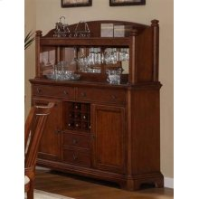 Pennsylvania Country Sideboard & Sideboard Hutch