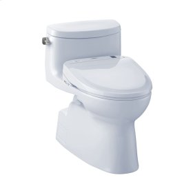 Carolina® II WASHLET®+ S300e One-Piece Toilet - 1.28 GPF - Cotton