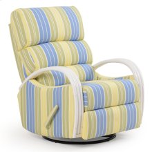 Striped Swivel Glider Recliner 550SGR