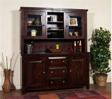 Vineyard Buffet & Hutch, 2pc/set