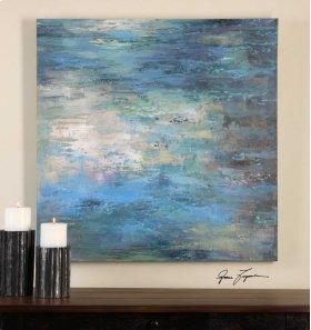 Splish Splash Hand Painted Canvas
