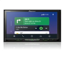 """Flagship In-Dash Multimedia Receiver with 6.94"""" WVGA Clear Resistive Touchscreen Display"""