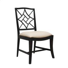 Evelyn Side Chair, Black