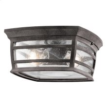 Wiscombe Park Collection Wiscombe Park 2 Light Outdoor Ceiling Light in WZC