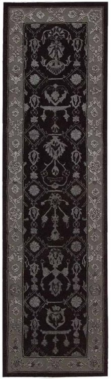 Regal Reg01 Blk Runner 2'3'' X 8'