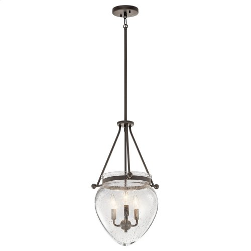 Belle 3 Light Foyer Pendant Olde Bronze®