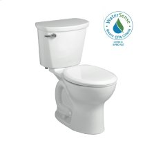 White Right Height Round Front Toilet