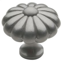 Satin Nickel Melon Knob