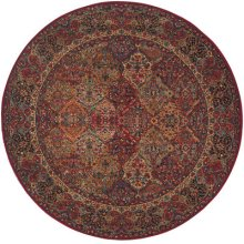 Multicolor Panel Kirman Multi Round 8ft 8in X 8ft 8in