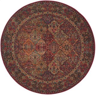 Multicolor Panel Kirman Multi Round 8ft 8in X 8ft 8in
