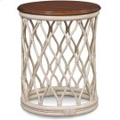 Santa Cruz Round Chairside Table Product Image