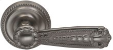 Interior Ornate Lever Latchset in (US15 Satin Nickel Plated, Lacquered)