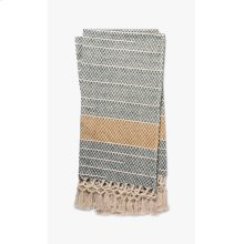 T1034 MH Grey / Gold Throw