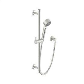 Slide Bar With Hand Shower Darby Series 15 Satin Nickel