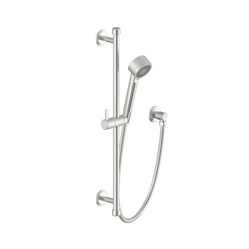 Slide Bar With Hand Shower Darby Series 15 Satin Nickel