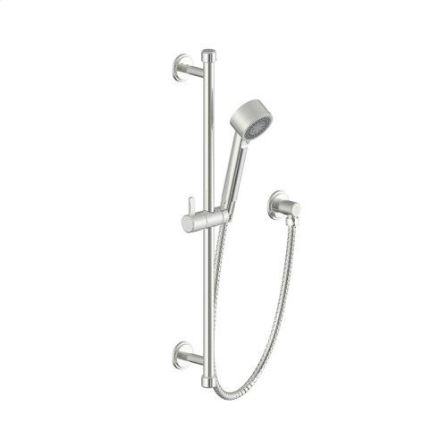 Slide Bar with Hand Shower Darby (series 15) Satin Nickel
