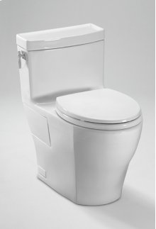Cotton Aimes® One-Piece High-Efficiency Toilet, 1.28GPF, with SanaGloss