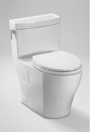 Ebony Aimes® One-Piece High-Efficiency Toilet, 1.28GPF