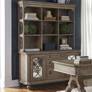 Liberty Furniture Industries Credenza & Hutch Set