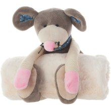"Plushlines N0605 Grey 7"" X 17"" Plush Animals"