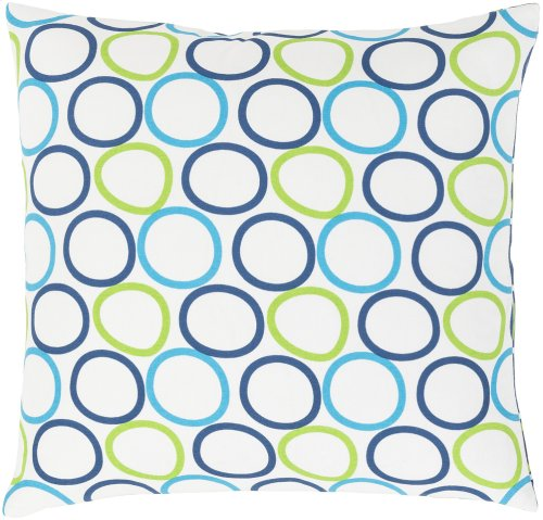 "Miranda MRA-002 20"" x 20"" Pillow Shell with Down Insert"