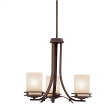 Hendrik Collection Hendrik 3 Light Chandelier - Olde Bronze
