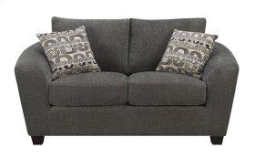 Emerald Home Urbana Loveseat W/2 Accent Pillows Ink U3613m-01-13