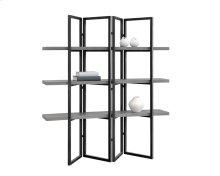 Halston Bookcase - Black