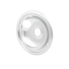 Smart Choice 8'' Chrome Drip Bowl, Fits Specific Product Image
