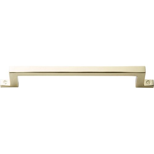 Campaign Bar Pull 5 1/16 Inch - Polished Brass