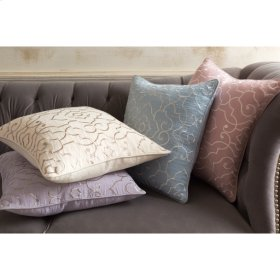 """Adagio AO-003 18"""" x 18"""" Pillow Shell with Polyester Insert"""