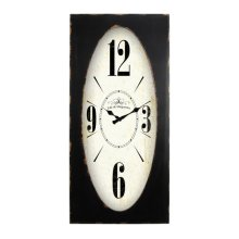 Speakeasy Spokes Wall Clock
