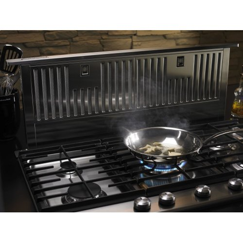"""36"""" Retractable Downdraft System, 600 CFM - Stainless Steel"""