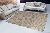Moda Mod01 Chrom Rectangle Rug 3'6'' X 5'6''