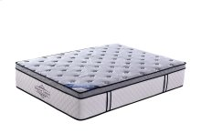 "15"" Eastern King Memory Foam Pocket Coil Mattress"