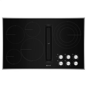 "JENN-AIRJennAir® Euro-Style 36"" JX3 Electric Downdraft Cooktop - Stainless Steel"