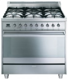 Free-Standing Dual Fuel Range, 36 , Stainless Steel