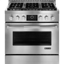 Pro-Style® Gas Range with MultiMode® Convection, 36""