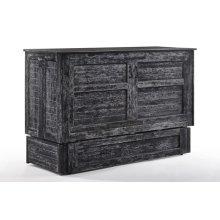 Poppy Murphy Cabinet Bed in Blizzard finish