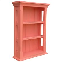 Cottage Open Wall Cabinet
