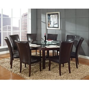 "Steve Silver Co.Hartford Round Dining Table 72"" x 72"" x 30"""