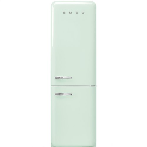 50'S Retro Style refrigerator with automatic freezer, Pastel green, Right hand hinge