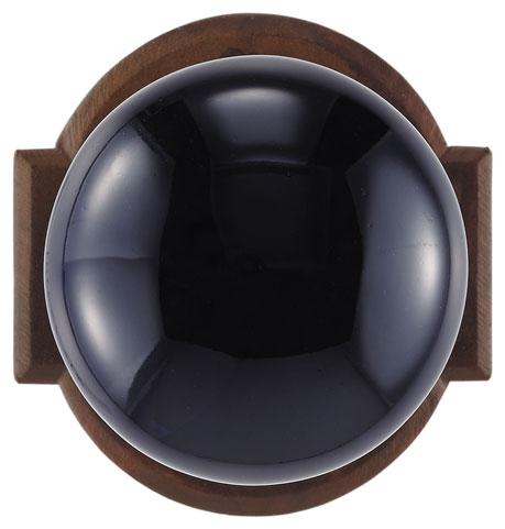 Knob on rosette set - Passage trim set