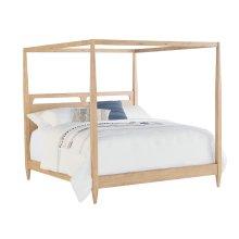 Wheat Era Canopy King Bed