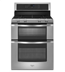 6.0 Total cu. ft. Double Oven Gas Range with AccuBake® system