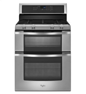 **DISPLAY MODEL CLOSEOUT** 6.0 Total cu. ft. Double Oven Gas Range with AccuBake® system